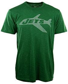 '47 Brand Men's New York Jets Retro Logo Scrum T-Shirt