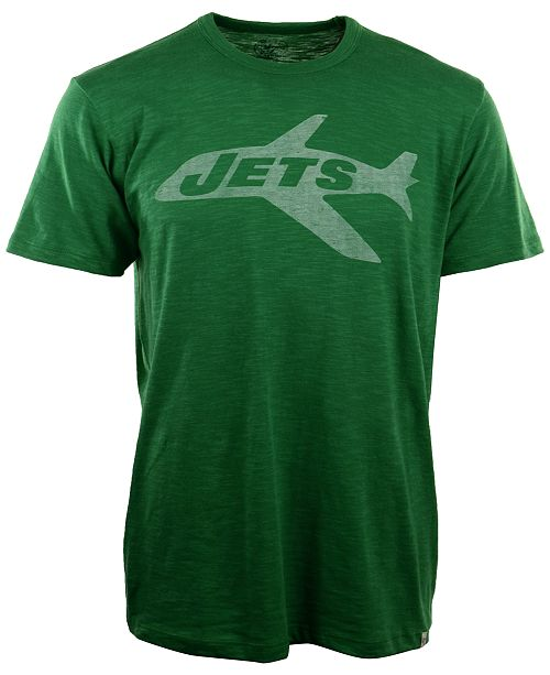 '47 Brand Men's New York Jets Retro Logo Scrum T-Shirt