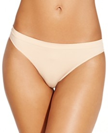 Jenni Seamless Thong Underwear, Created for Macy's