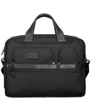Tumi Alpha 2 Expandable Organizer Laptop Briefcase