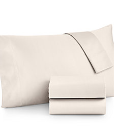 Westport Open Stock Extra Deep Pocket Queen Flat Sheet, 600 Thread Count 100% Cotton