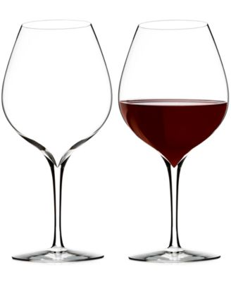Elegance Merlot Wine Glass Pair
