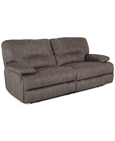 Liam fabric 2 piece sectional sofa with power recliners for 2 piece sectional sofa with recliner