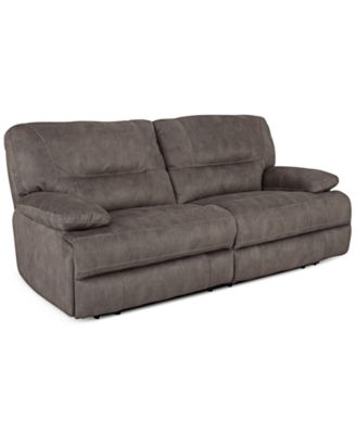 Liam 2 Pc Fabric Sectional Sofa With 2 Power Recliners, Created For Macyu0027s.  Furniture