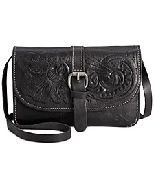Torri Tooled Leather Crossbody