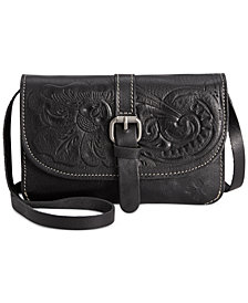 Patricia Nash Torri Tooled Leather Crossbody