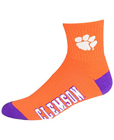For Bare Feet Clemson Tigers Ankle TC 501 Socks