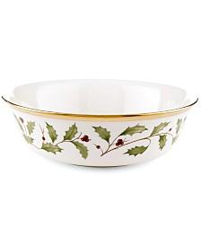 Lenox Holiday All Purpose Bowl