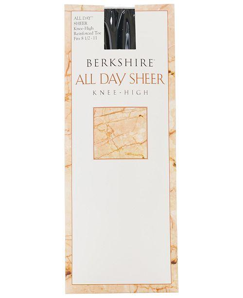 75ba72766 Berkshire Women s All Day Sheer Knee Highs 6355   Reviews - Handbags ...