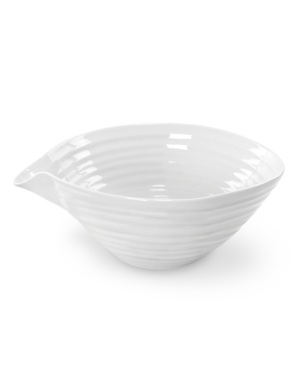 white pouring bowl