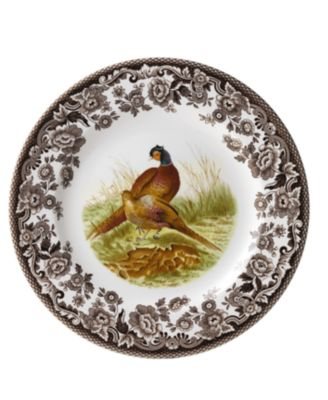 Woodland by Pheasant Dinner Plate