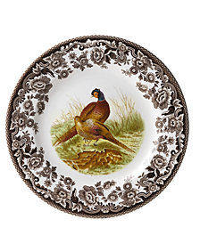 Woodland by Spode Pheasant Salad Plate