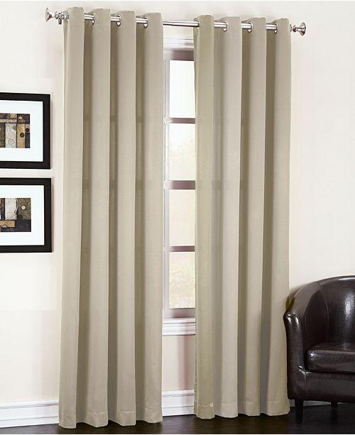 "Sun Zero Grant 54"" x 63"" Grommet Top Curtain Panel"