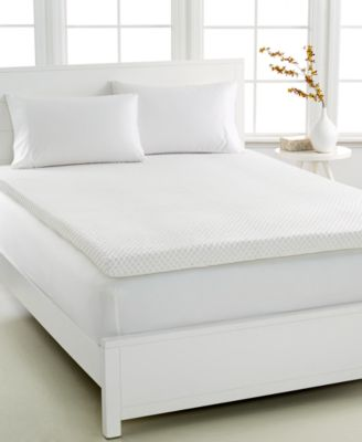 CLOSEOUT! Dream Science 3'' Memory Foam Queen Mattress Topper, VentTech Ventilated Foam, by Martha Stewart Collection, Created for Macy's