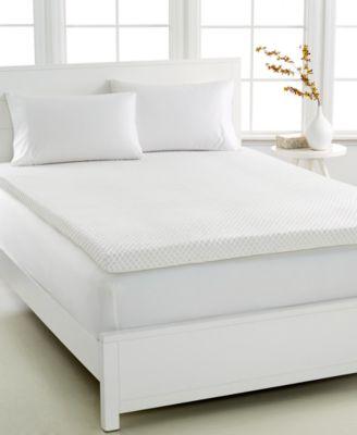 dream science 3u0027u0027 memory foam twin mattress topper venttech ventilated foam by