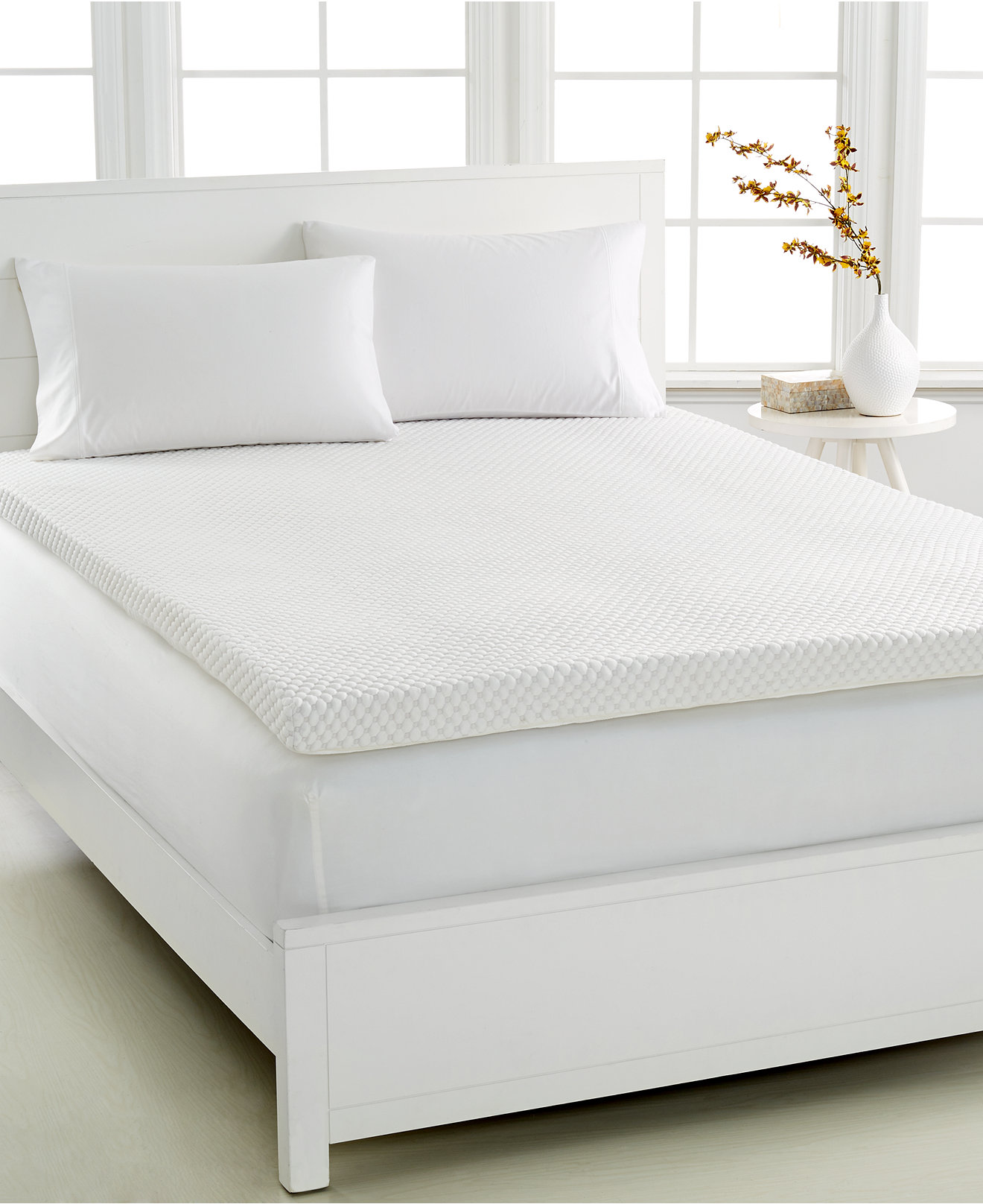 Serta 3 inch memory foam mattress topper - Dream Science By Martha Stewart Collection 3 Memory Foam Mattress Toppers Venttech Ventilated