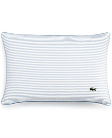 "Lacoste Home Seersucker 12"" x 18"" Decorative Pillow"