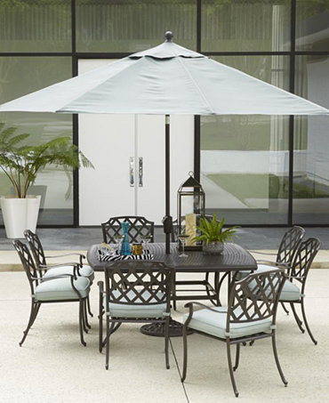 Commacys Outdoor Furniture : Nottingham Outdoor Dining Collection - Furniture - Macys