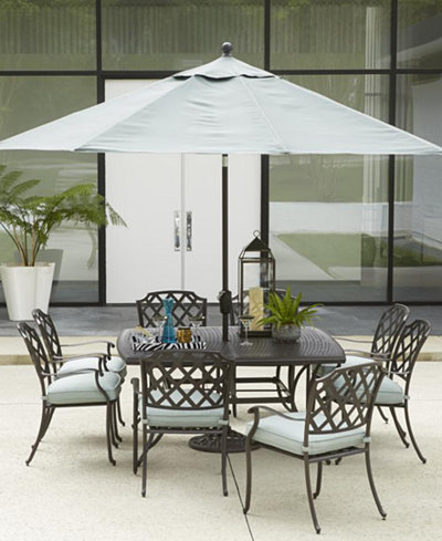 Nottingham Outdoor Dining Collection Created For Macys Furniture