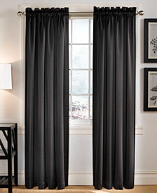 "Sun Zero Grant Room Darkening Pole Top 54"" x 84"" Curtain Panel"
