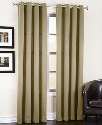 Sun Zero Grant Solid Room Darkening Grommet Collection