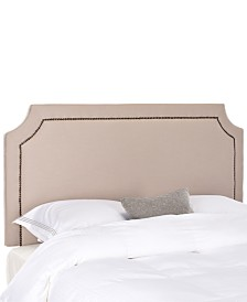 Bedell Upholstered Queen Headboard, Quick Ship