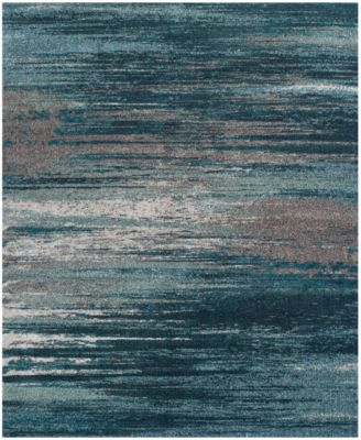 Grey And Teal Area Rug