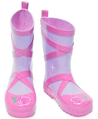 Kidorable Little Girls' Ballet Rain Boots - Shoes - Kids & Baby ...