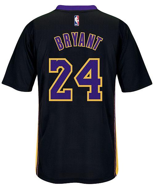 ... adidas Men s Short-Sleeve Kobe Bryant Los Angeles Lakers Swingman Jersey  ... 038235c28