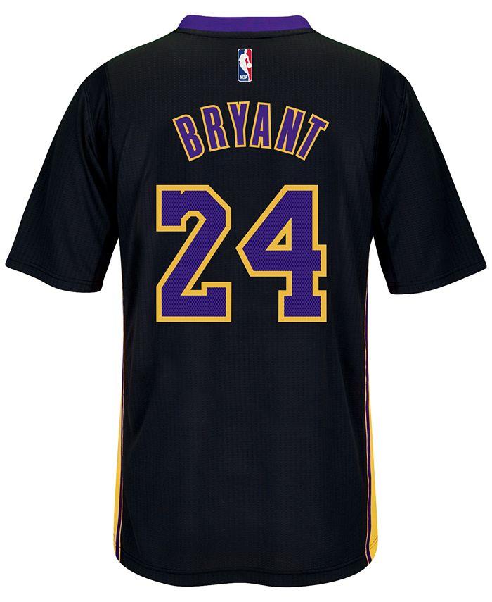 adidas Men's Short-Sleeve Kobe Bryant Los Angeles Lakers Swingman ...