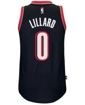 adidas Men's Damian Lillard Portland Trail Blazers Swingman Jersey