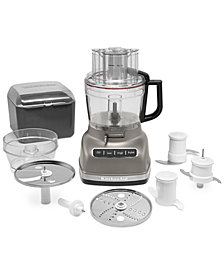 KitchenAid KFP1133ACS Architect 11-Cup Food Processor with ExactSlice, Created for Macy's