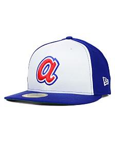 New Era Atlanta Braves MLB Cooperstown 59FIFTY Cap