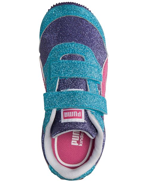 c355819edd03 ... Puma Toddler Girls' Steeple Glitz Multi Casual Sneakers from Finish ...