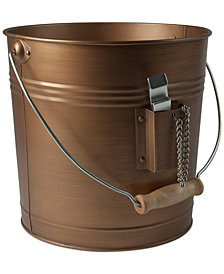 Artland Masonware Antique Copper Finish Beverage Pail with Bottle Opener