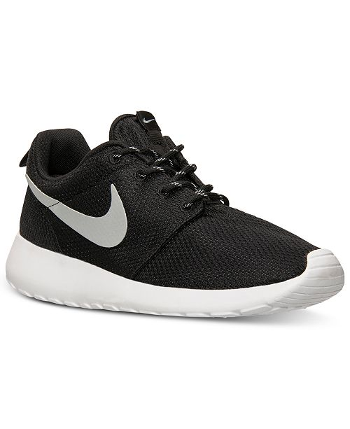 meet cfad3 aaa2e ... Nike Women s Roshe Run Casual Sneakers from Finish ...