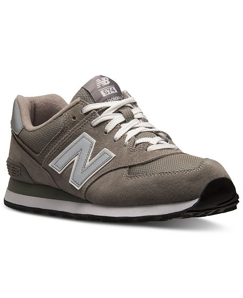 418f24f8407 Men s 574 Core Suede Casual Sneakers from Finish Line. Be the first to  Write a Review. main image  main image ...