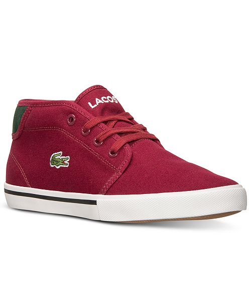 Lacoste Big Boys' Ampthill TBR Casual Sneakers from Finish Line