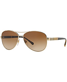 Burberry Polarized Sunglasses, BE3080