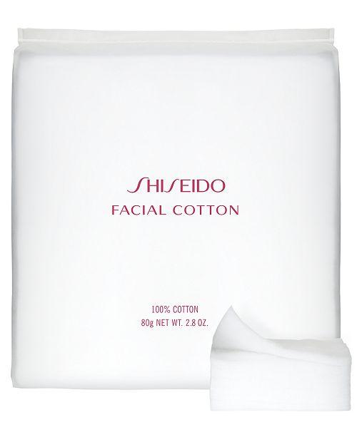 Shiseido The Makeup Facial Cotton, 165 sheets
