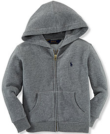 Ralph Lauren Full Zip Hoodie, Little Boys