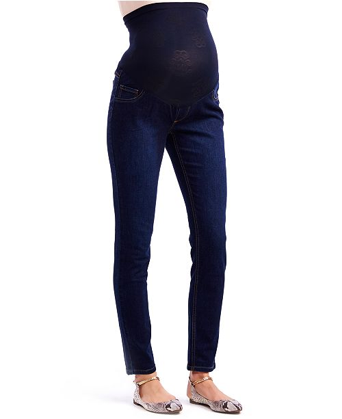 a981990757b75 Jessica Simpson Maternity Skinny Jeans, Dark Wash & Reviews ...