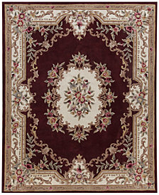 "KM Home Dynasty Aubusson 7'6"" x 9'6"" Area Rug, Created for Macy's"