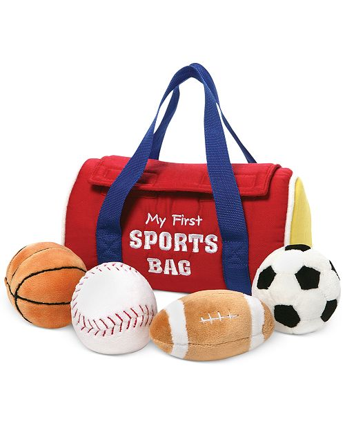 Gund® Baby My First Sports Bag Playset Toy