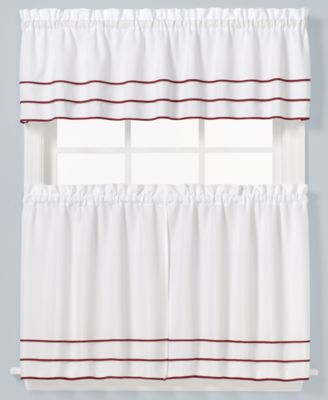 Anne 56 X 36 Pair Of Tier Curtains