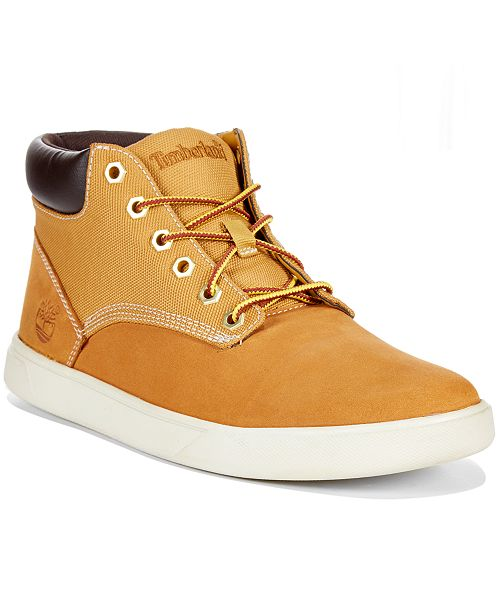 timberland men s groveton hi top sneakers created for macy s all