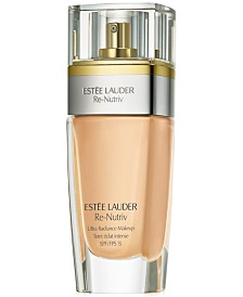 Estée Lauder Re-Nutriv Ultra Radiance Liquid Makeup SPF 15, 1 oz.