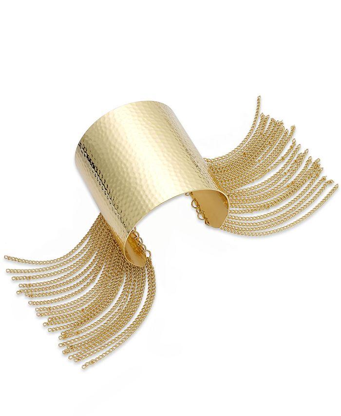 Thalia Sodi - Silver-Tone Fringe Cuff Bracelet