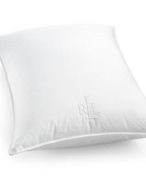 Lauren Ralph Lauren White Down Medium Density King Pillow Certified Asthma and Allergy Friendly Bedding
