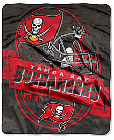 Northwest Company Tampa Bay Buccaneers Grand Stand Plush Throw Blanket